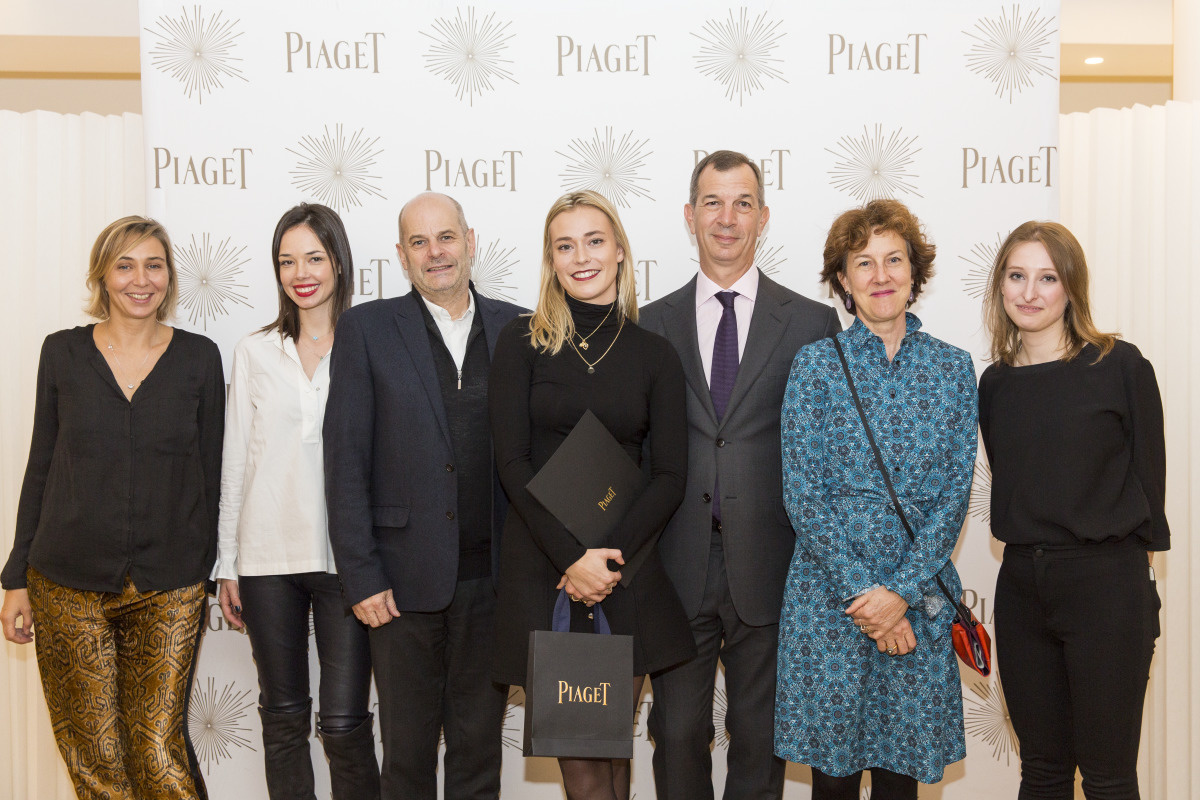 Piaget rewards jewelry designer students for their work